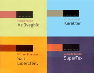 A Gondolat kiadó holland könyvsorozatát, mely Akcentusok sorozatcím alatt jelenik meg, Gera Judit sz