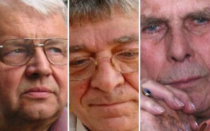 Prima-díjasok: Bertók László, Görgey Gábor, Vári Attila