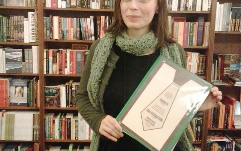 Mán-Várhegyi Réka kapta a 2013-as JAKkendő-díjat