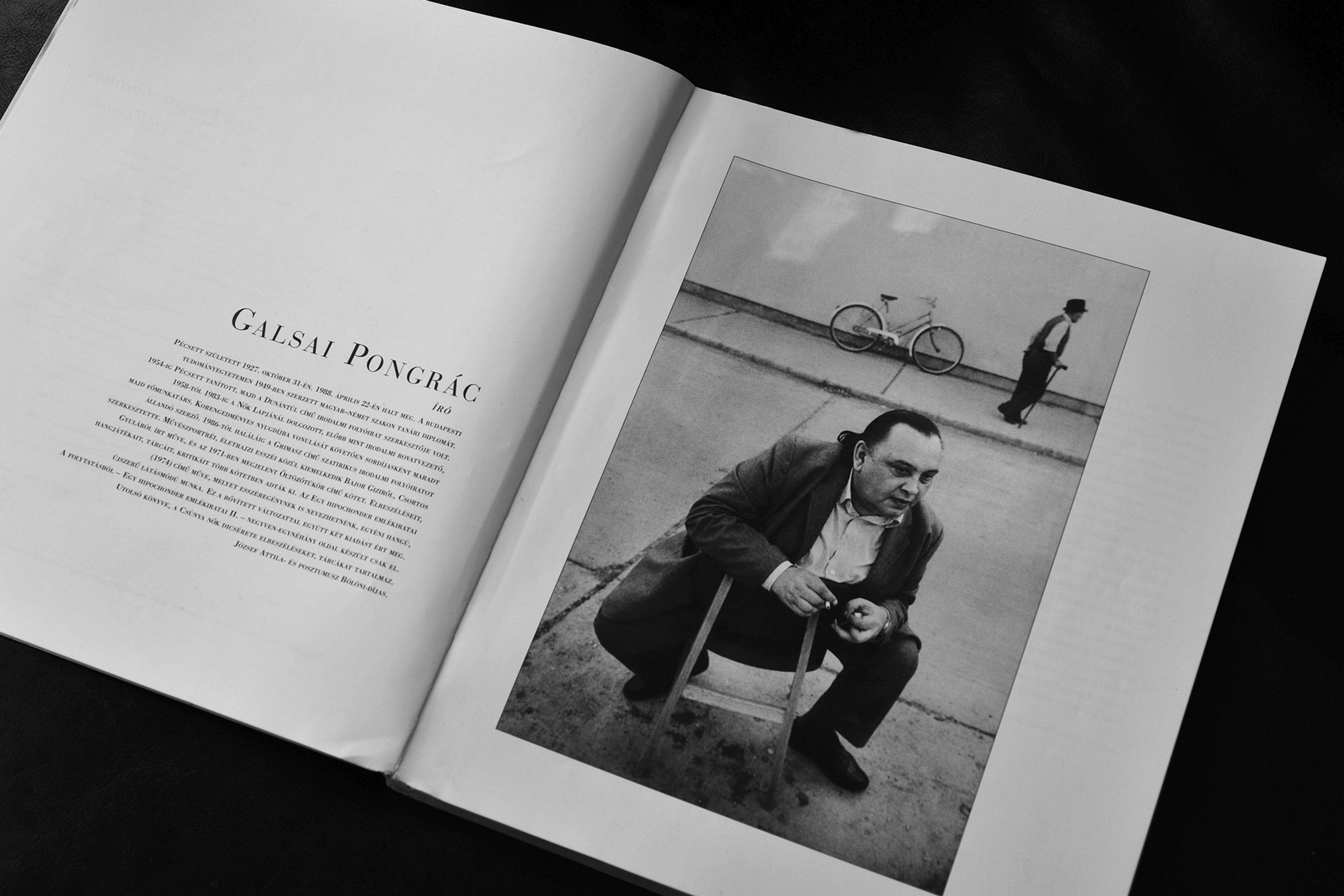 Galsai Pongrác az Arctérképek című könyvben