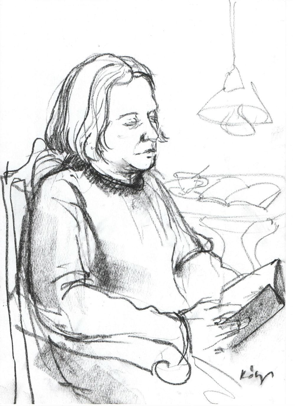 Hazai Attila - Kőszeghy Csilla rajza