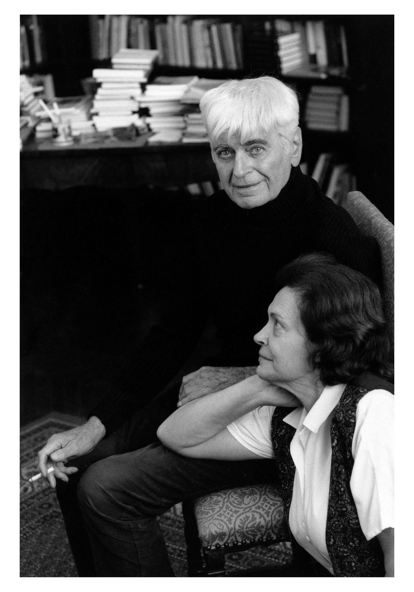 Mészöly Miklós és Polcz Alaine 1995