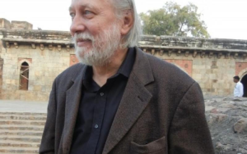 Krasznahorkai László Delhiben