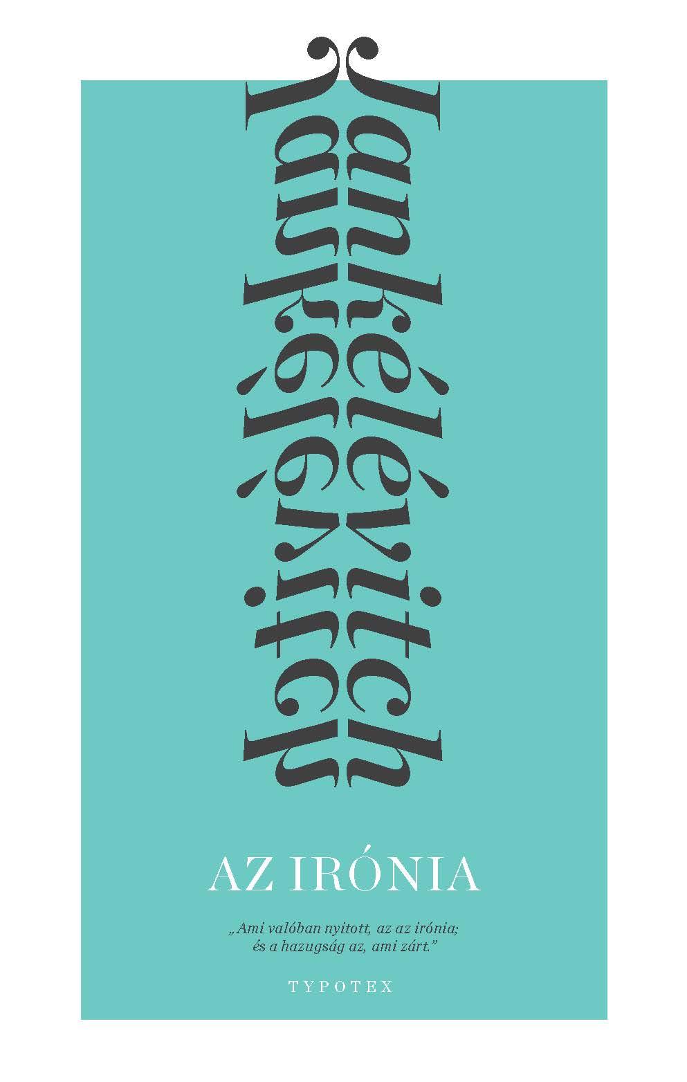 LITERA PODCAST – Vladimir Jankélévitch Az irónia című könyvéről