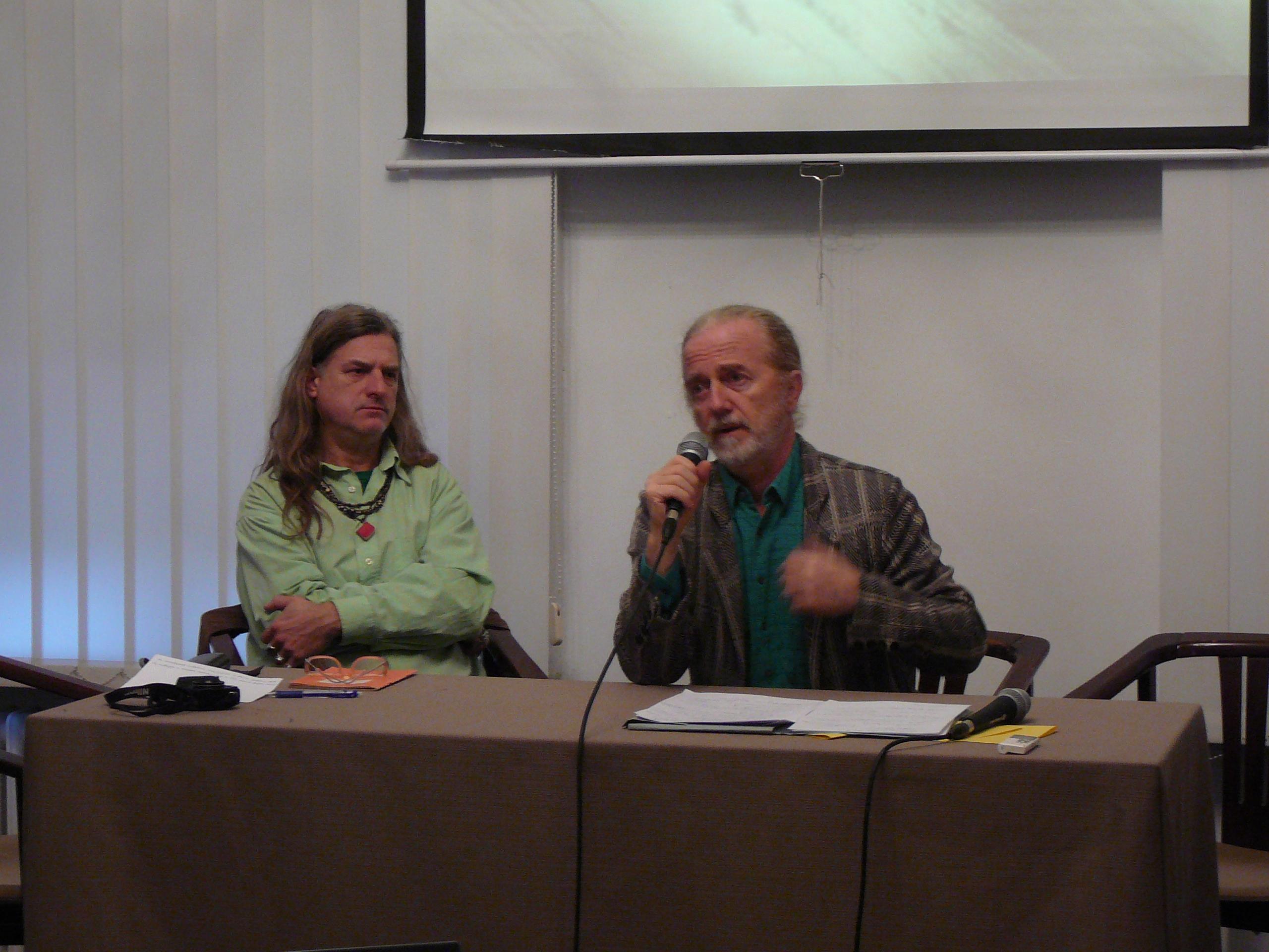 Gyukics Gábor és Szkárosi Endre